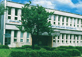 Drabpol, headquarters of our company in 1983