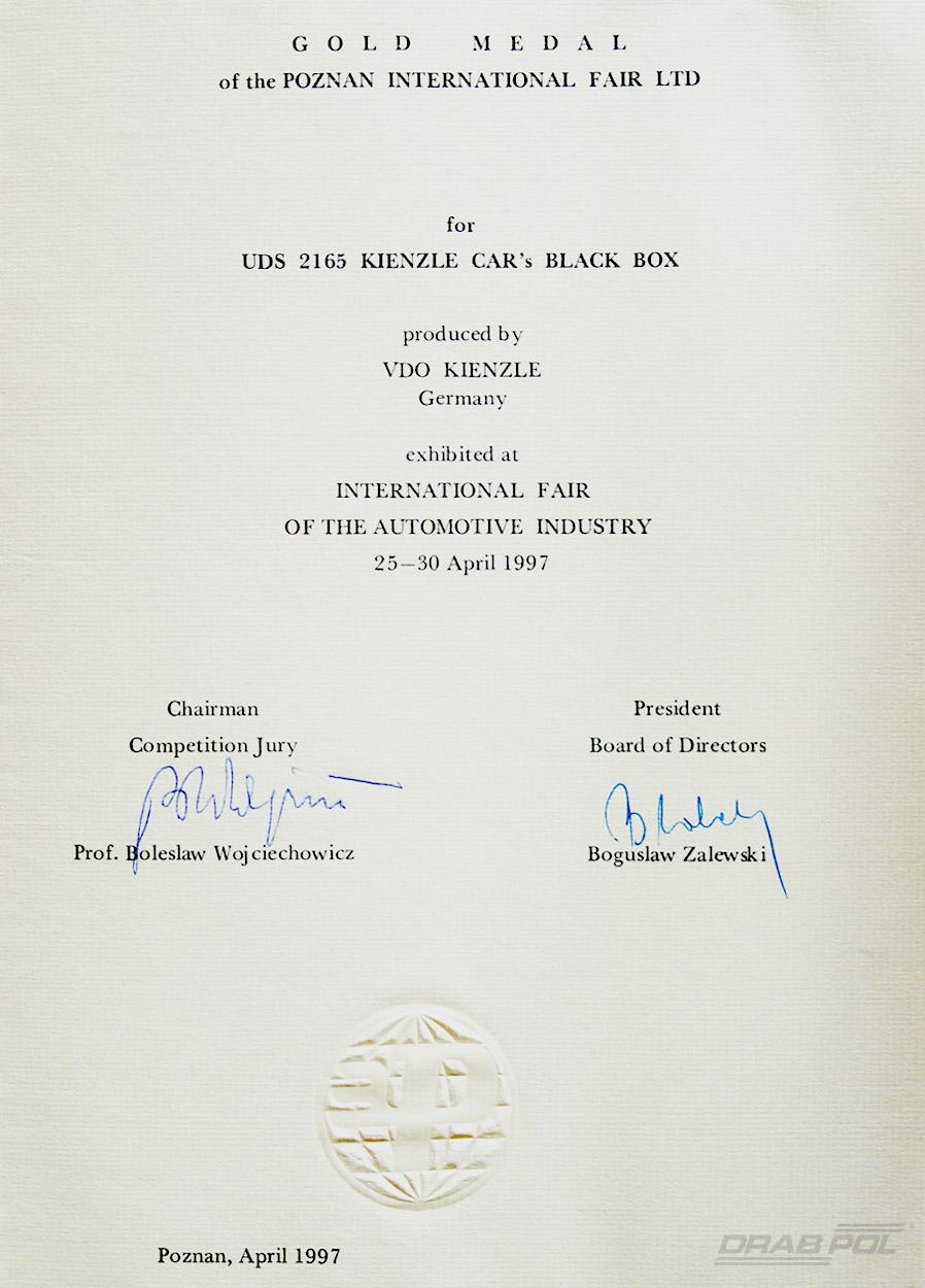 Gold Medal UDS
