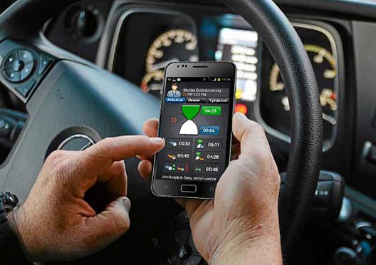 Drabpol, Aplikacje VDO, Driver App
