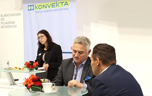 drabpol, klimatyzacje Konvekta, targi TRAKO 2015