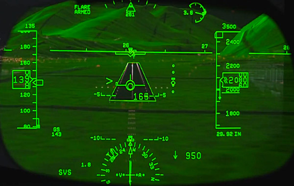 Rockwell Collins Head-up Guidance Systems