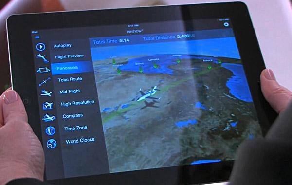 Rockwell Collins aplikacja Airshow