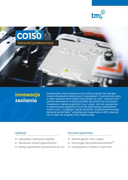 TM4 CO150 falownik-przetwornica
