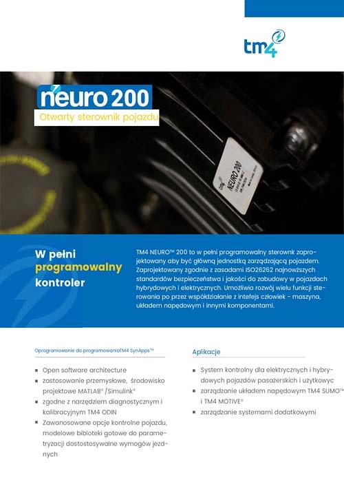 TM4 NEURO200 otwarty sterownik pojazdu