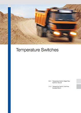 drabpol, Continental VDO, wyłączniki temperatury, temperature switches