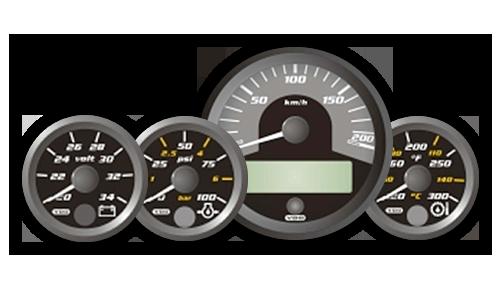 Drabpol, Continental, wskaźnik, zegar, CANcockpit