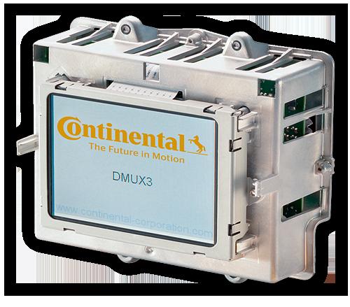 Drabpol, Continental, wyświetlacz DMUX3