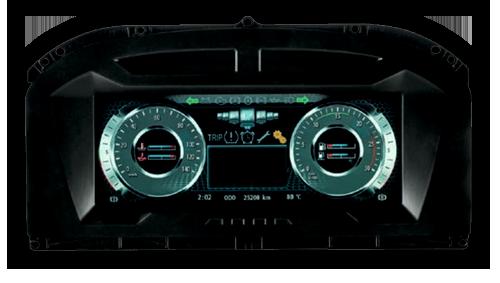 Drabpol, Continental, wyświetlacz MultiViu® Professional 12