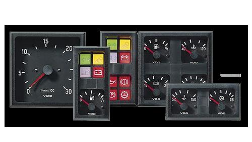 Drabpol, Continental, wskaźnik, zegar, modul cockpit, II