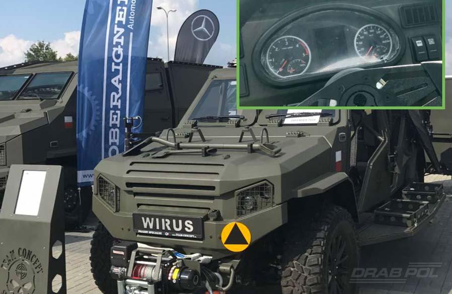 lekki pojazd uderzeniowy LPU Wirus4 SOF z deską FlexCluster