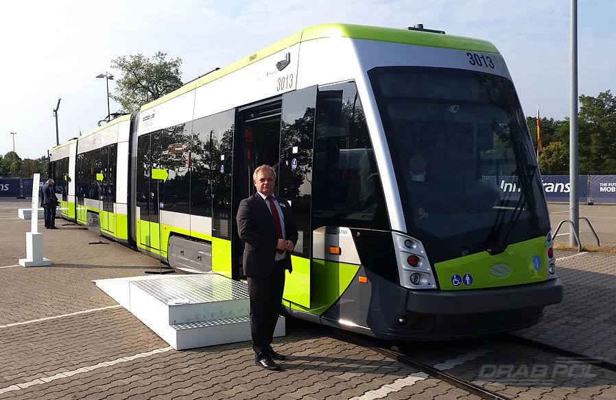 SOLARIS Tramino - InnoTrans 2016 in Berlin