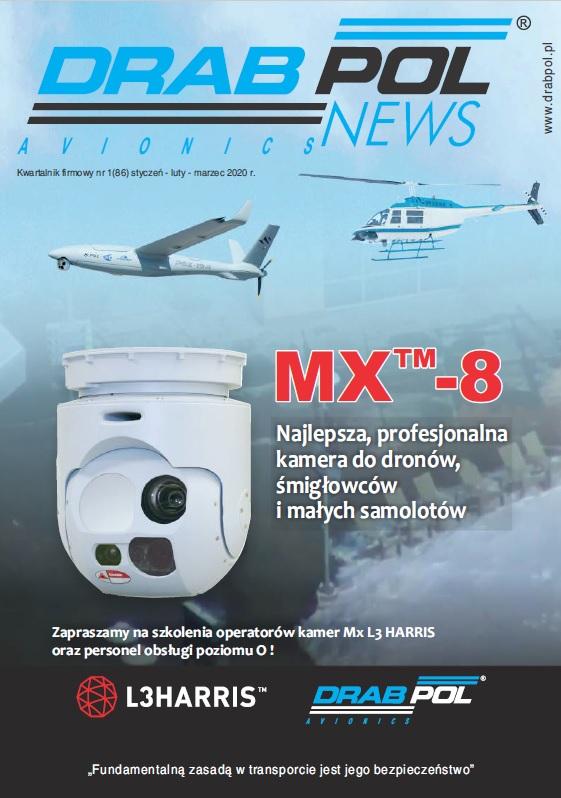 Drabpol News Avionics, kwartalnik firmowy nr 1 (86)