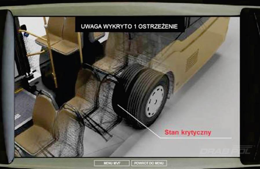 Systemy TPMS w autobusach komunikacji miejskiej