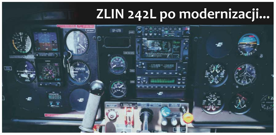 ZLIN 242L po modernizacji