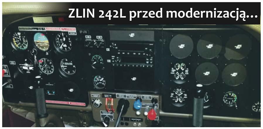 ZLIN 242L przed modernizacją