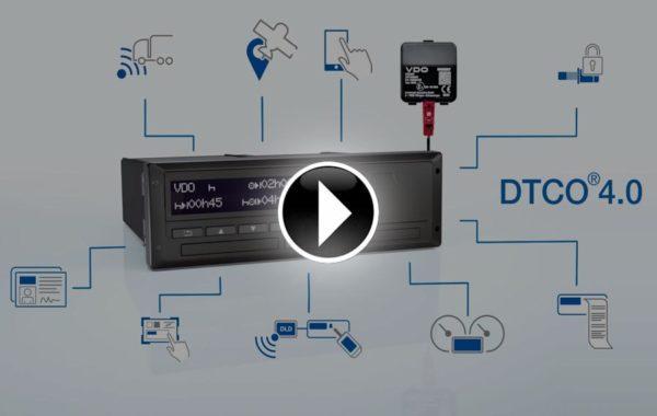 Inteligentny Tachograf DTCO 4.0