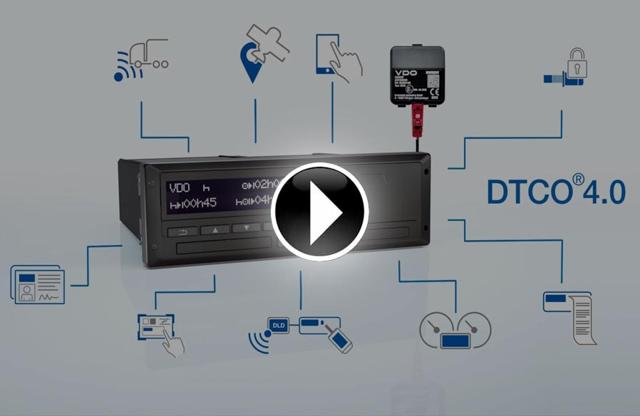 Tachografy cyfrowe, DTCO 4.0