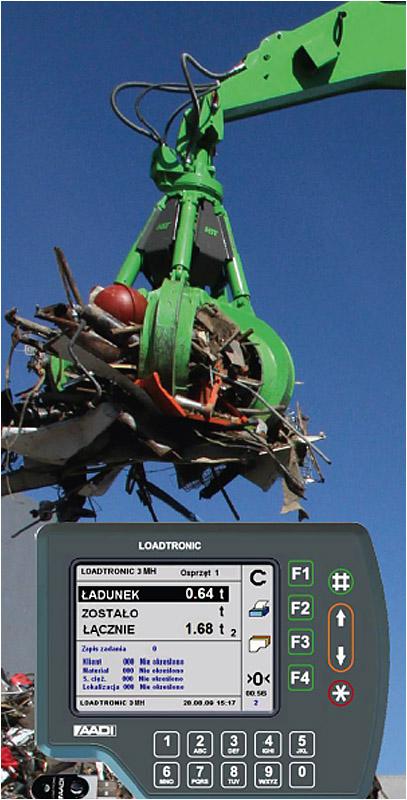 Drabpol, System ważenia dla koparek przeładunkowych Loadtronic 3MH