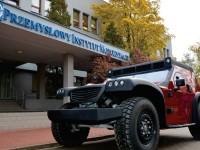 Pojazd FUNTER z naszą elektroniką pokładową