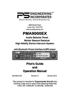 PS Engineering PMA 9000EX