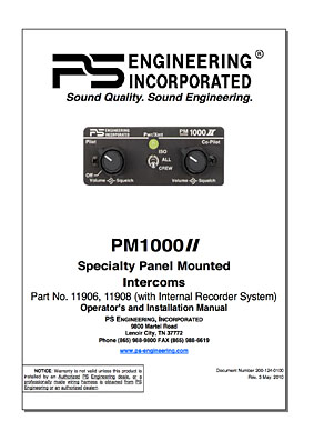 PS Engineering PM 1000