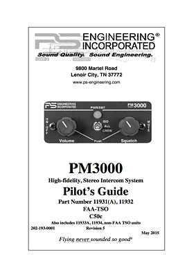 PS Engineering PM 3000