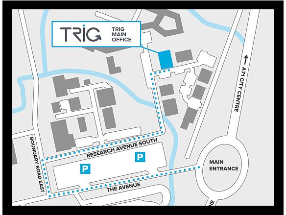siedziba główna Trig Avionics