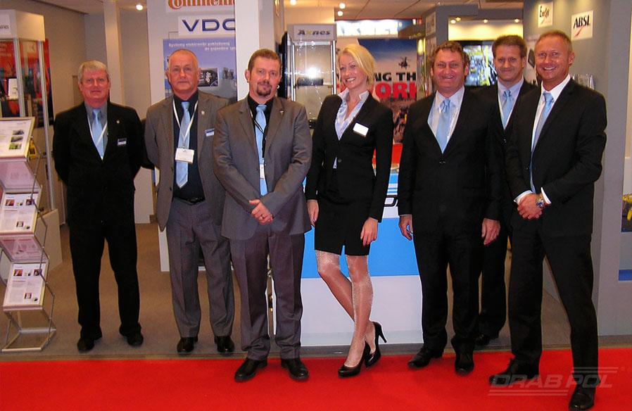 Na targach gościliśmy kilkunastu naszych partnerów z firm: Enersys, HR Smith, Insyen, Universal Avionics, Axnes, Thommen oraz L3 Wescam.